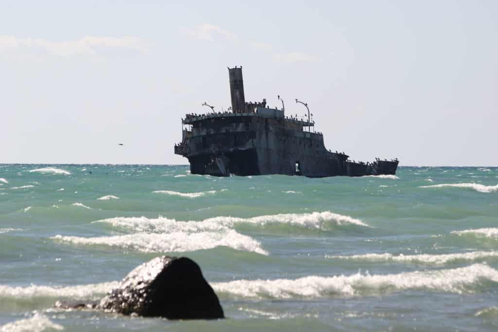 The wreck of the Francisco Morazan