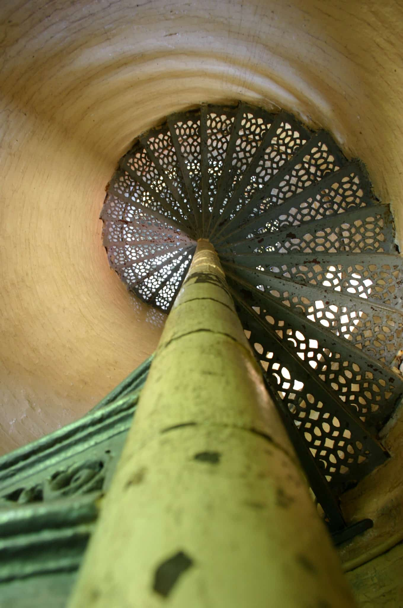 Beaver Head Light spiral staircase