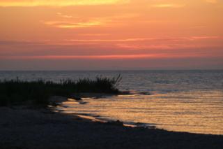 Beaver Island Lake Michigan sunsets are hard to beat!