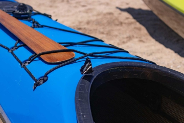 butterfly on a kayak