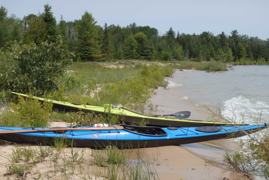 Kayaking the Beaver Island Water Trail