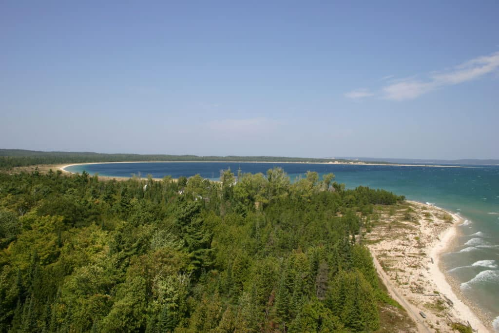 Camping on South Manitou Island