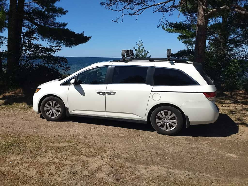 Honda Odyssey Camper Van Conversion