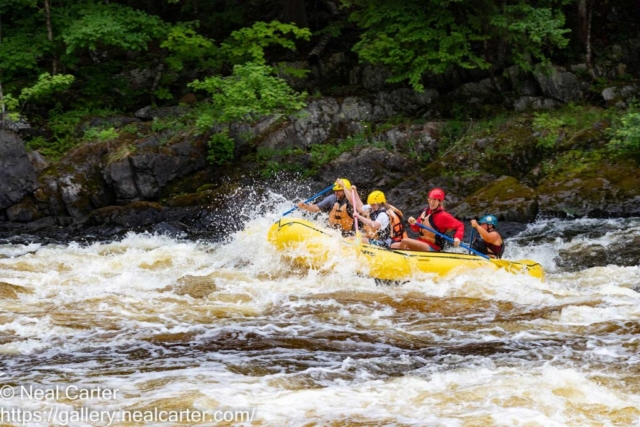 Piers Gorge white water rafting